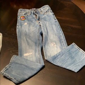 Old Navy distressed jeans size 5T